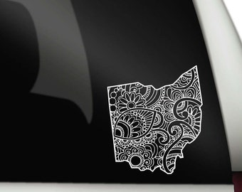 Ohio Doodle Decal