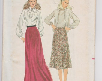Butterick 3315 / Misses Skirt / Size C / 70's Vintage Sewing Pattern