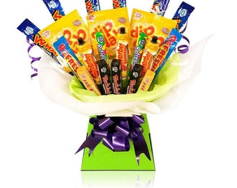 Retro Candy Bouquet Hamper