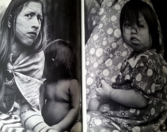 Faces of Bronze book photographic study of Amazonian people by Philippe Luzuy