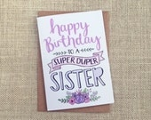 Happy Birthday Sister - B...