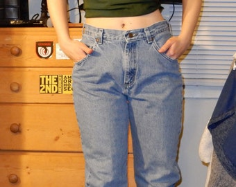 High- waisted Lee Jeans