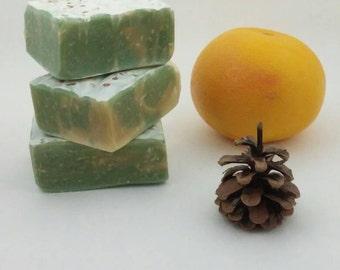 Soap - Purifying Spa Aromatherapy Blend - Breathe Deep, Invigorating, Moisture Balancing - 5 oz