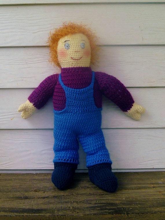 Amigurumi Doll Boy : Boy Doll Ricky Crochet Amigurumi