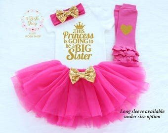 Big Sister Announcement Shirt, I'm Going to be a BIG Sister, New Big Sister, Big Sister Shirt, Big Sister Gift, Big Sister Outfit FBS6