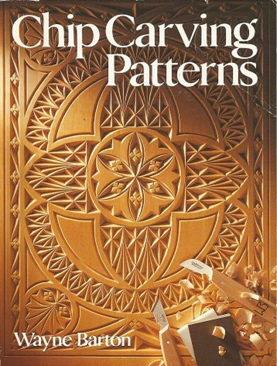 Vintage chip carving patterns wayne barton soft