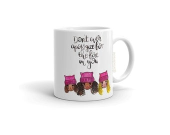 Women's March Watercolor Mug   Mug   Coffee Mug   Unique Mug   Gift for Her   Friend Gift   Girl Power   Girl Gang   Birthday Gift