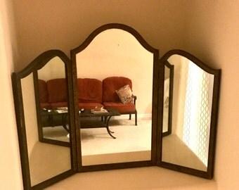 Triple Mirror Etsy
