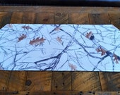 Snow Camo Table Runner