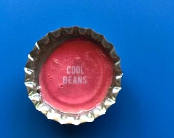 Cool Beans Magnet, Bottle Cap Magnet, Magnet