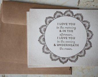 Love Note Card, Vintage Card, Wedding Card, Letter Writing, Valentine Note Card, Note Card Set, Aged Paper, Old Paper, Old Love Card