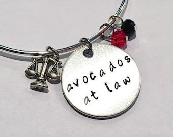 Avocados at Law Daredevil Matt Murdoch Foggy Nelson Adjustable Bangle Charm Bracelet