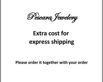 Upgrade to Express Shipping (PescaraJewelry)