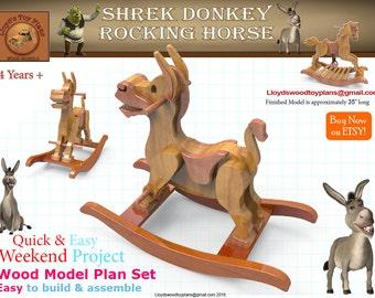 Shrek Donkey Rocking Horse