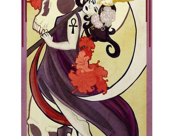 "DIRECT DOWNLOAD - Tarot Poster ""Death"""