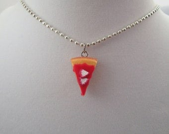Strawberry Cheesecake Charm Necklace