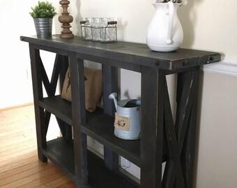Farmhouse Style Console Table/Entryway Table/Sofa Table