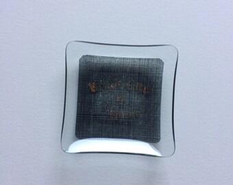 Small advertising ashtray