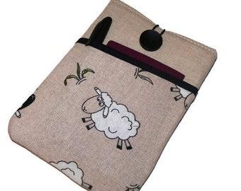 iPad case, iPad Air 2 Case, iPad Sleeve, iPad Mini Case, iPad Pro 12.9 case, iPad Pro 9.7 case, iPad cover Sheep pocket