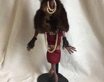 Vintage African American Doll