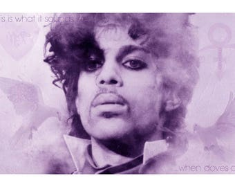 Prince Rogers Nelson, Prince Print, Prince Symbol, Prince, RIP Prince, Prince Tribute, Prince Art, Purple Rain, Prince Fan Gift, Wall Art