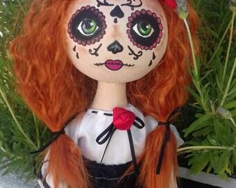 La Catrina doll