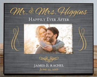 Personalized Mr and Mrs Frame