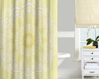 coral and blue shower curtain. Yellow Shower Curtain  Bohemian Mandala Bath Modern Dahlia Navy Blue Pink Gray
