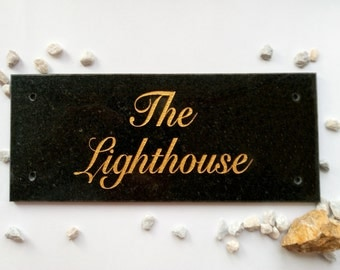 Customized house numbers Personalized address plaque House sign Stone art housewarming gift Granite outdoor Custom coordinates Any signs