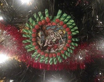 Tales From the Crypt Evil Santa Christmas Ornament