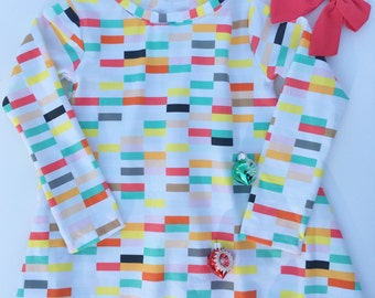Candy Coated Lounge Dress, toddler pj's, kids, Valentine's Day