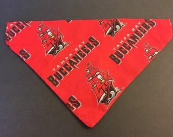 Dog bandana, NFL Tampa Bay Buckaneers