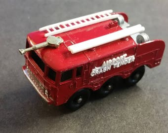Matchbox Series No 63 Foamite Crash Tender Made in England Lesney NEAR MINT