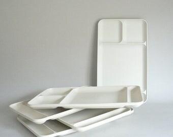 Tupperware Vintage Food Serving Tray Set of Five