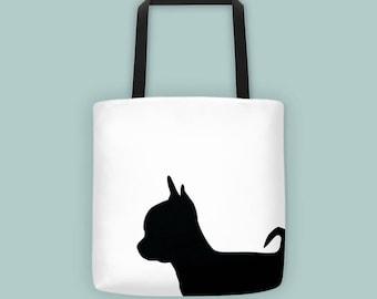 Chihuahua Tote Bag - Tote Bag - Dog bag - Tote