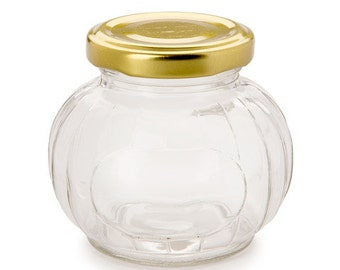 Glass Favor Jar