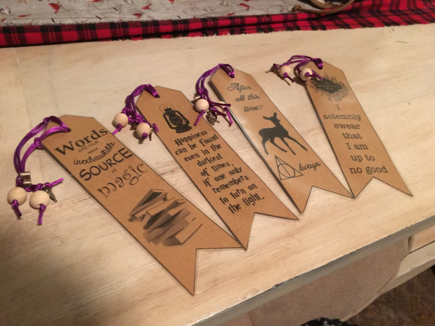 This is a photo of Current Printable Harry Potter Bookmarks