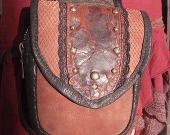 leather purse for lady