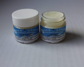 SUGAR LIP POLISHER / Lip Scrub Treatment / Sugar Scrub