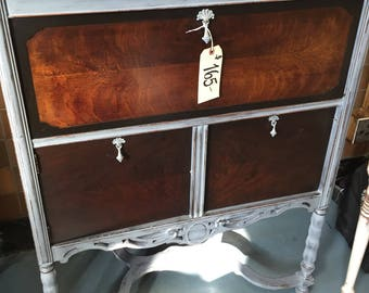 SOLD - 1920's Record Player Cabinet / Dry Bar