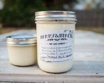 16 Oz WAIKIKI BEACH COCONUT Soy Candle-Non-Toxic-Eco-Friendly-Renewable
