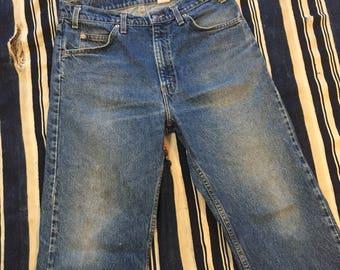 Vintage Levis Orange Tab 505 Jeans Size 33x30(Inches)
