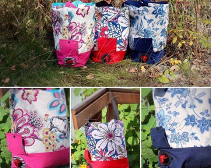 Paper Pattern - Always Leave Room for the Wine Tote Pattern
