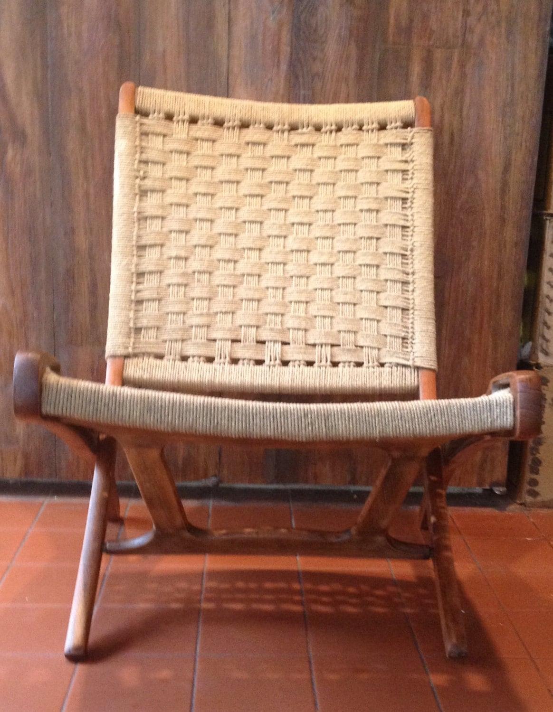 Step 2 rocking chair - Ebert Wels Folding Rope Chair
