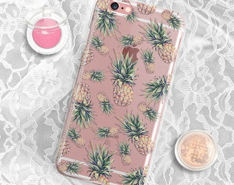Pineapple iPhone 6 Plus Case Clear iPhone 6 Case Clear iPhone 6s Case iPhone SE Case iPhone 6s Plus Case Silicone iPhone 5s Case