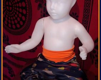 Harem pants baby Camo colored