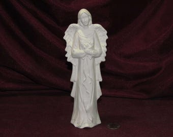 Ceramic Bisque U-Paint Wispy Angel Of Love Unpainted Ready To Paint DIY