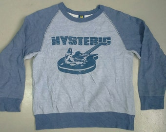 Rare Vintage HYSTERIC GLAMOUR Sweatshirt Size M