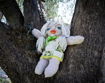 Rosalie le Gnome - Peluche fait main