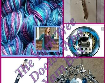 2017 The Yarn Tree - Doctor Who-themed yarn box